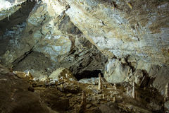Photo of stone arch in the cave Stock Images