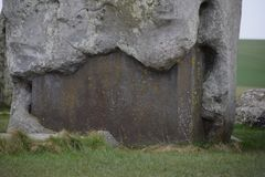 Photo of part from Stonehenge monument royalty free stock photo