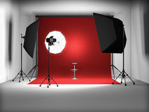 Photo studio Royalty Free Stock Photo