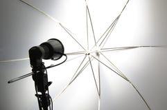 Photo studio. Macro of photographer studio equipment Royalty Free Stock Photos