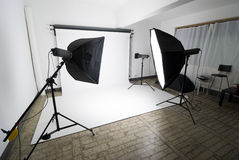 Photo studio Royalty Free Stock Photography