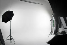 Photo of a studio. With copyspace royalty free stock photography