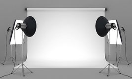 Photo studio Royalty Free Stock Image