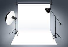 Photo studio background Stock Image