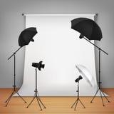 Photo Studio Design Concept Stock Photography