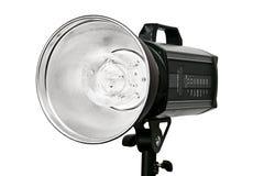 Photo studio flash lighting equipment stock photo