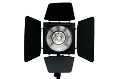 Photo studio flash lighting equipment royalty free stock image