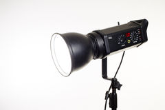 Photo studio lighting equipment Royalty Free Stock Photography