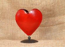 Photo studio. Lighting, tabletop heart royalty free stock images