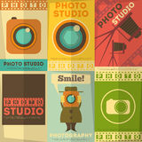 Photo Studio Poster Royalty Free Stock Images