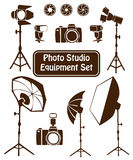 Photo studio set Stock Image