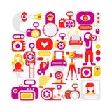 Photo Studio vector illustration Stock Photo