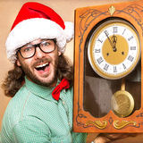 Photo of stunned Santa Stock Images