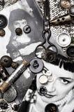 Photo stylish women Stock Images