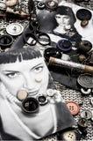 Photo stylish women Royalty Free Stock Images