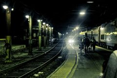Photo of Subway Stock Image