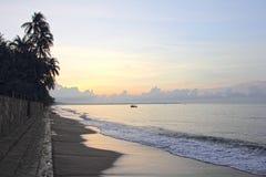 Photo of sunrise on sea Stock Images