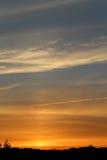 Photo sunset sky Royalty Free Stock Photos