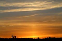 Photo sunset sky Royalty Free Stock Image
