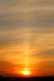 Photo sunset sky Stock Photo