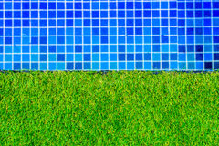 Photo swimming pool water background Royalty Free Stock Photography