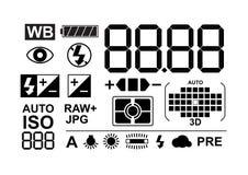 Photo symbols collection vector illustration