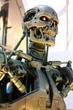 Photo of the T-800 End skeleton royalty free stock photos