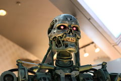 Photo of the T-800,TERMINATOR Royalty Free Stock Photo