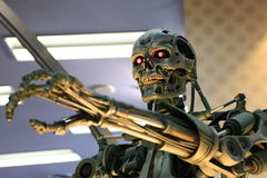 Photo of the T-800,TERMINATOR stock images