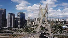 Causeway Octávio Frias de Oliveira São Paulo - SP royalty free stock photos