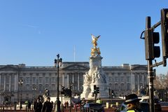 Buckingham Palace Landmark Royalty Free Stock Image