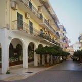 Buildings in Corfu Town, Kerkyra, Greece Stock Image