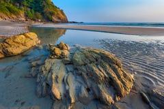 Beach of Lanta. stock photography