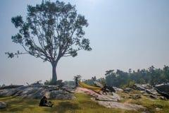 Rural landscape at purulia west bengal india