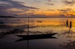 Sunrise over chilika lake