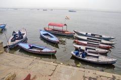 Boat composition at varanasi ganga