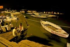 Nightscape at varanasi uttar pradesh india
