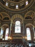 View of interior of the Basilica of St. Josaphat, Milwaukee, Wisconsin, USA Royalty Free Stock Photography