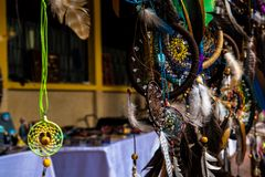 Dream catcher for sale royalty free stock photography