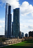 Photo of tall buildings. Chicago Royalty Free Stock Photo