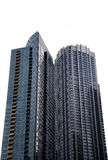 Photo of tall buildings from South Loop in Chicago. Cityscape. Stock Photos