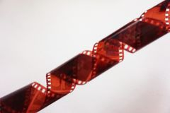 Photo tape. A photographic film negative royalty free stock image