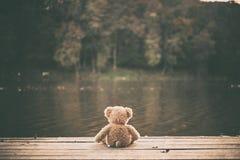 Teddy bear. Photo of a Teddy bear toy stock photography
