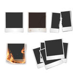Photo templates set. In vector Stock Image