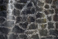 Photo texture background wall made of natural stone in different sizes Stock Photos