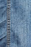 Photo texture blue denim jeans trousers Stock Photo