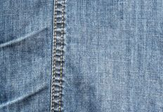 Photo texture blue denim jeans trousers Stock Image