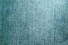 Photo of texture of blue denim royalty free stock photo
