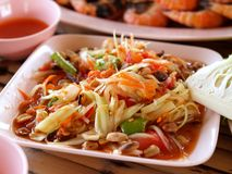 Photo thaïe de nourriture Photo stock