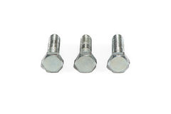 Photo of three steel fastening screw Royalty Free Stock Photography